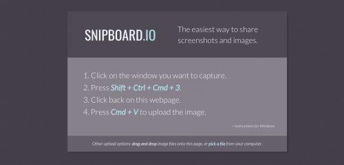 Snipboard.io